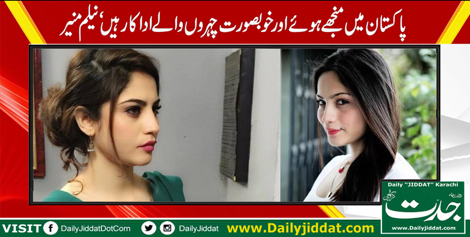 Neelam Munir Pakistani Actress