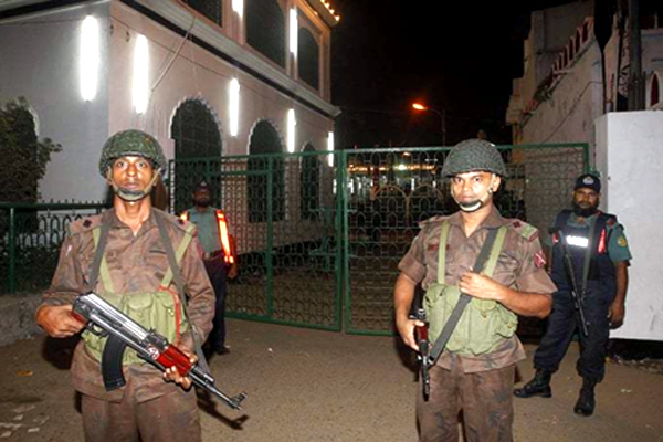 Attack on Mosque in Bangladesh Several Injured