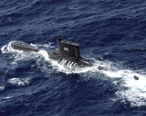 Indonesian Submarine Missing Leaving 35 Missing