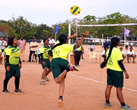 National Women's Throwball Championship Pakistan 2021