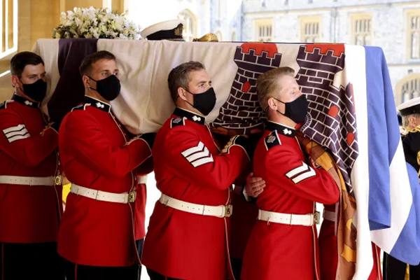 Prince Philip Funeral in UK