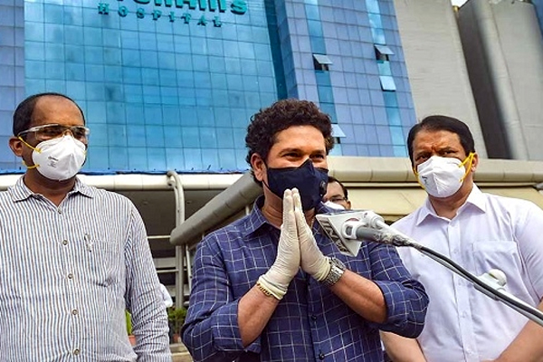 Sachin Tendulkar in Hospital Due to Corona