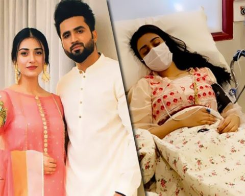 Sarah Khan was taken to hospital, reveals husband Falak Shabir