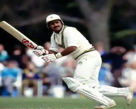 Sharjah Cup Javed Miandad Six