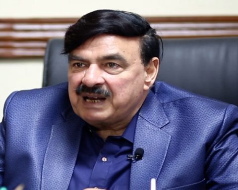 Sheikh Rasheed Ahmed Interior Minister Pakistan