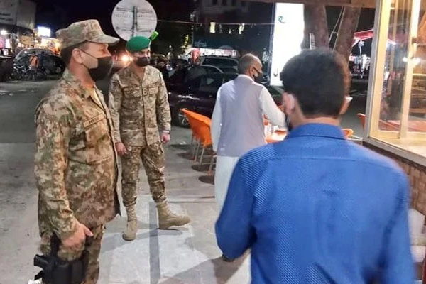 Corona SOPs and Pak Army Action in Pakistan