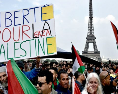 France Ban Protest Against Palestine