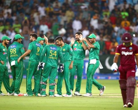 Pakistan Cricket Team West indies Tour