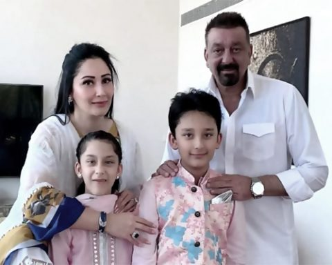 Sanjay Dutt Eid Celebrated in Dubai