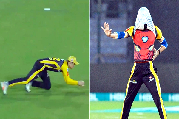 Umaid Asif Take Wicket and Celebrate PSL6